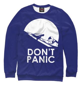 Женский Свитшот Don't Panic