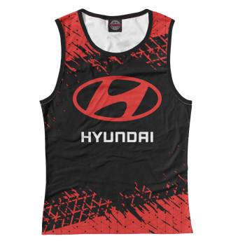 Женская Майка Hyundai / Хендай
