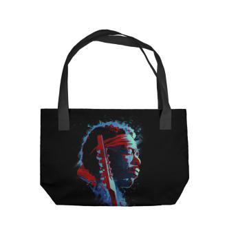 Пляжная сумка Jimi Hendrix