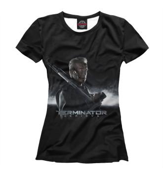 Женская Футболка Terminator
