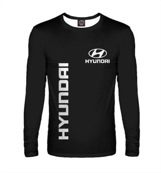 Мужской Лонгслив Hyundai