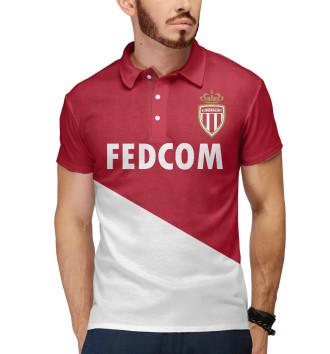 Мужское Поло AC Monaco домашняя форма