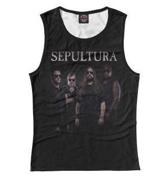 Женская Майка Sepultura