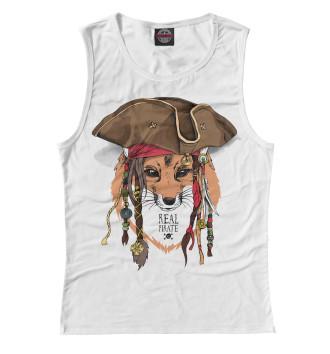 Женская Майка Real pirate Fox