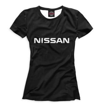 Женская Футболка Nissan