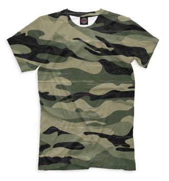 Мужская Футболка Camouflage Green
