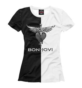 Футболка для девочек Bon Jovi