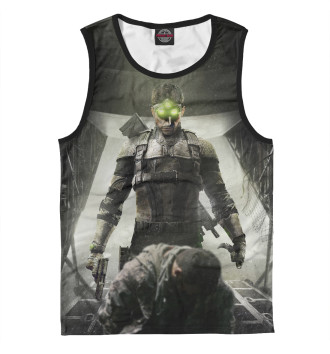 Мужская Майка Splinter Cell: Blacklist — Сэм Фишер