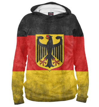 Женское Худи Флаг Германии