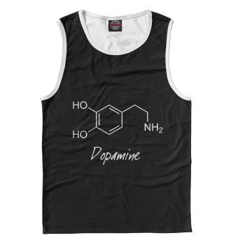 Мужская Майка Химия Дофамин