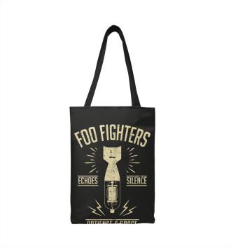 Сумка-шоппер Foo Fighters