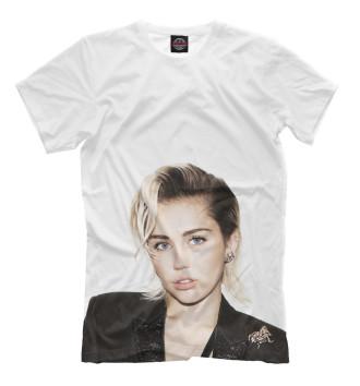 Мужская Футболка Miley Cyrus
