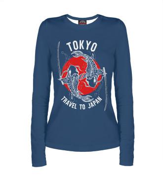Женский Лонгслив Tokyo. Travel to Japan
