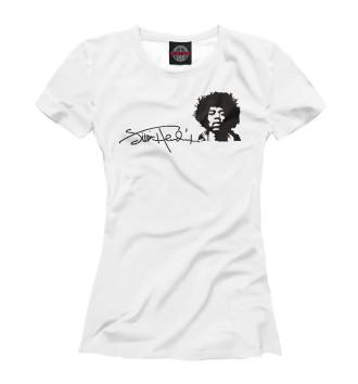 Женская Футболка Jimi Hendrix