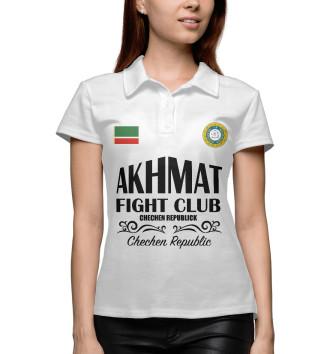 Женское Поло Akhmat Fight Club