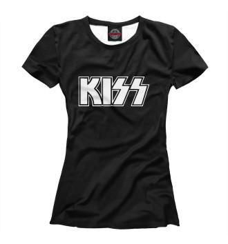 Женская Футболка KISS