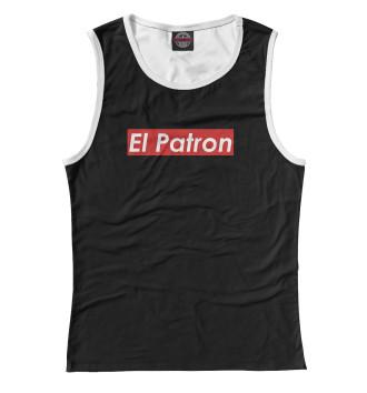 Женская Майка El Patron