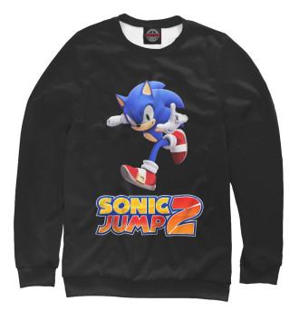 Женский Свитшот Sonic Jump2