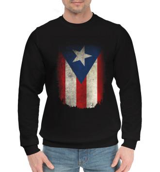 Мужской Хлопковый свитшот Пуэрто-Рико