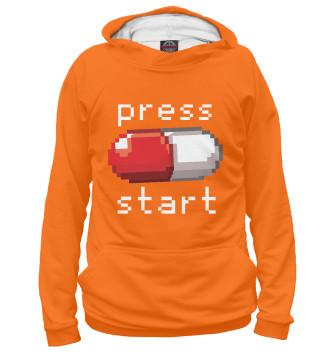 Женское Худи Press start