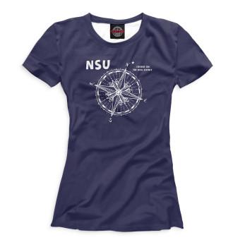 Женская Футболка NSU