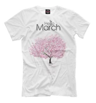 Мужская Футболка March