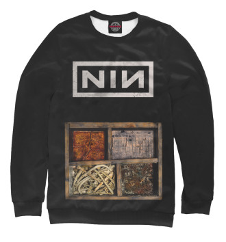 Мужской Свитшот Nine Inch Nails