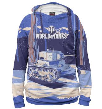 Мужское Худи World of Tanks