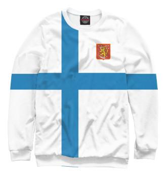 Женский Свитшот Сборная Финляндии