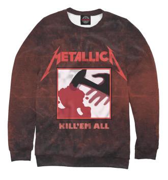 Мужской Свитшот Metallica - Kill Em All