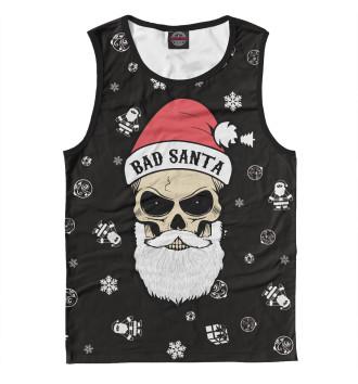 Мужская Майка Bad Santa