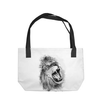 Пляжная сумка Lion - Лев