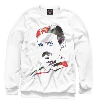 Женский Свитшот Nikola Tesla