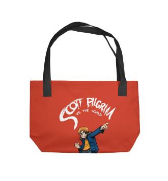 Пляжная сумка Scott Pilgrim vs The world