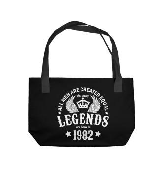 Пляжная сумка 1982 - рождение легенды