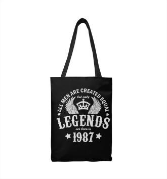Сумка-шоппер 1987 - рождение легенды