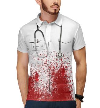 Мужское Поло bloody doctor