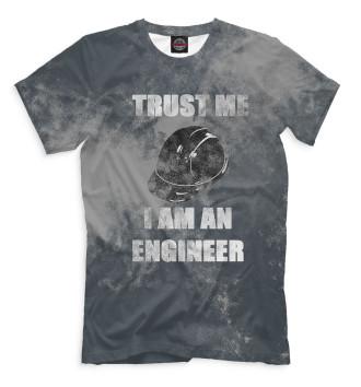 Мужская Футболка Инженер