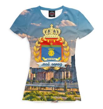 Женская Футболка Волгоград