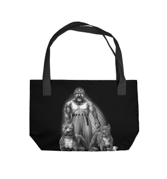 Пляжная сумка Питбули