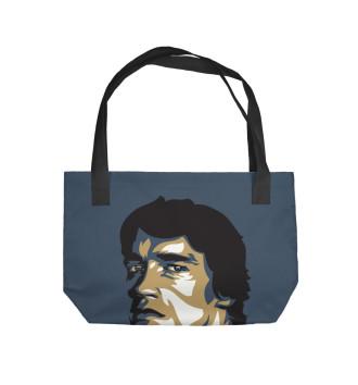 Пляжная сумка Железный Арни