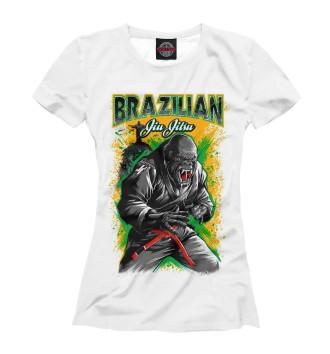 Женская Футболка Brazilian Jiu-Jitsu