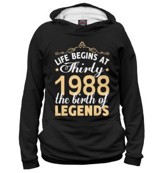 Женское Худи 1988 - Рождение легенды