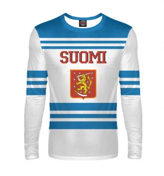 Мужской Лонгслив Сборная Финляндии