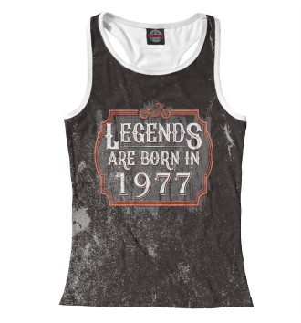Женская Борцовка Legends Are Born In 1977