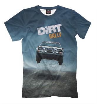 Мужская Футболка Dirt Rally