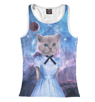 Женская Борцовка Коты в платьях