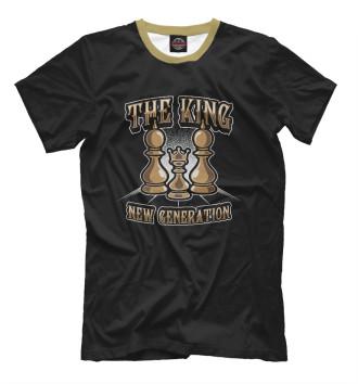Мужская Футболка The King