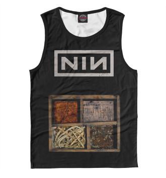 Мужская Майка Nine Inch Nails
