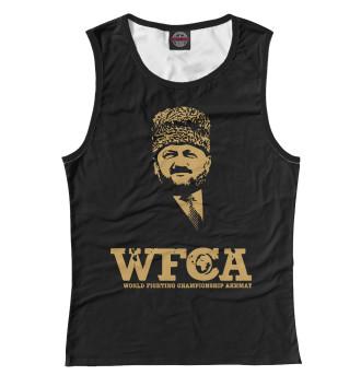 Женская Майка WFCA Federation Black